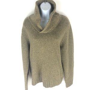 L.L. Bean Women's Tan Sweater M